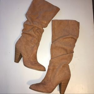 Charlotte Russe Slouch Knee High Boots!